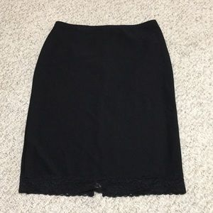Express Black Women's Pencil Skirt